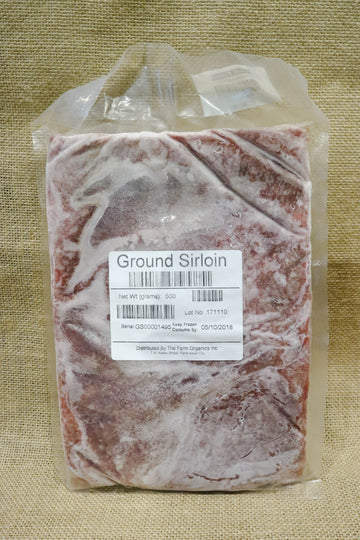 The Farm Organics – Ground Sirloin
