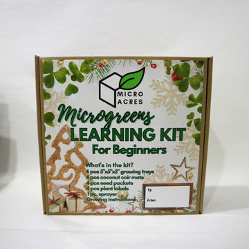 Micro Acres – Micro Greens Learning Kit For Beginners