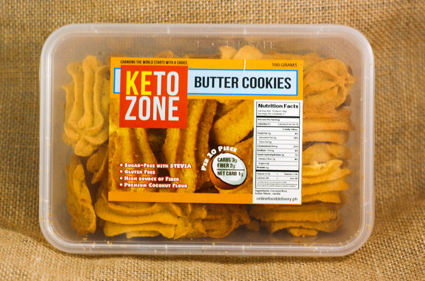 Keto Zone – Butter Cookies