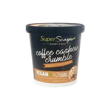 Super Scoops – Coffee Cashew Crumble Ice Cream