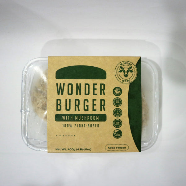 Wonder Meat – Wonder Burger (Black Mushroom)