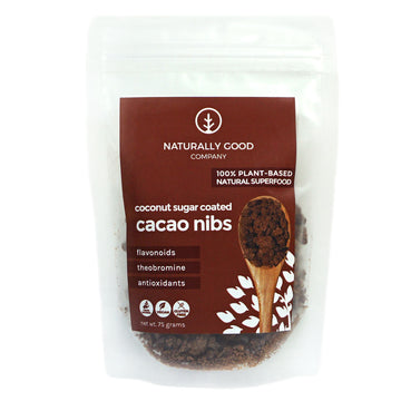 Naturally Good – Coconut Sugar Coated Cacao Nibs