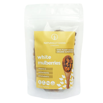 Naturally Good – White Mulberries