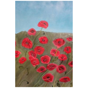 Poppies - Canvas Mini Print