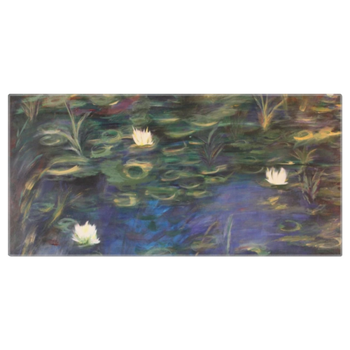 Water Lillies Beach Towel
