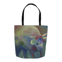 Load image into Gallery viewer, Contessa the Cow Tote Bag