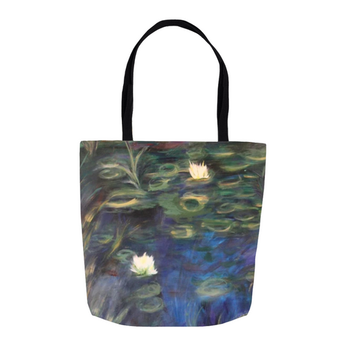 Water Lillies Tote Bag