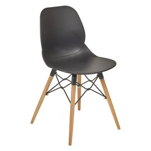 Shoreditch Chair, Beech Frame, Black
