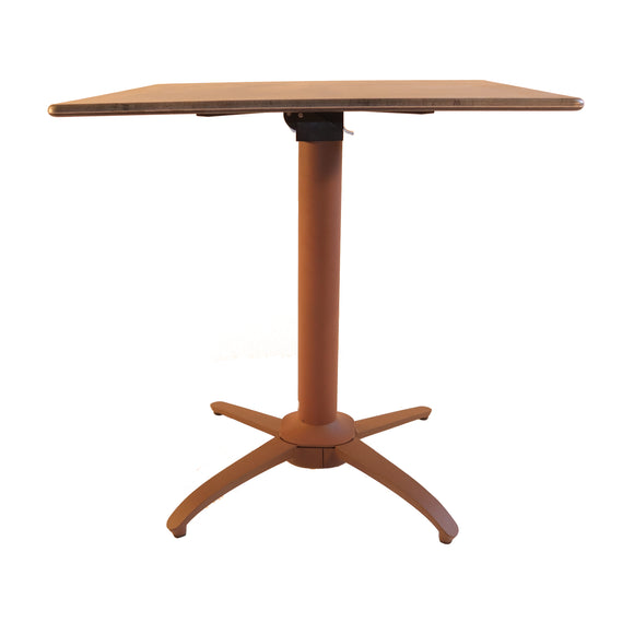 NOROCK Rust Terrace Complete Table