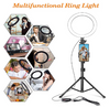 Led Ring Light With Tripod