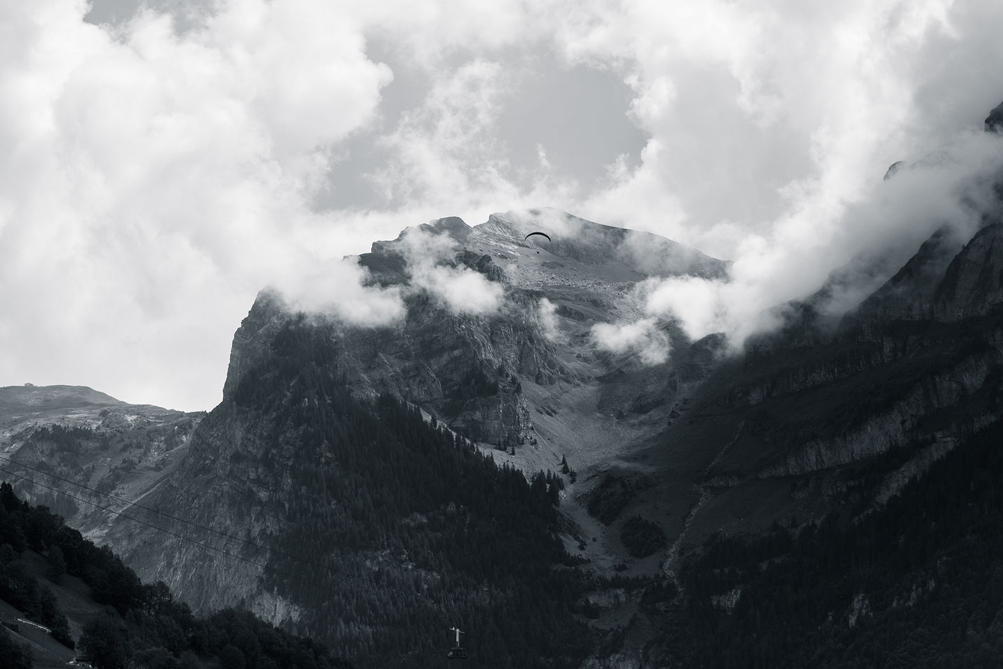 Photo Fine Art Print | Engelberg | Switzerland - Photo Fine Art Prints by Kamba