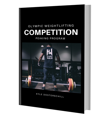 Olympic Weightlifting Competition Peaking Program