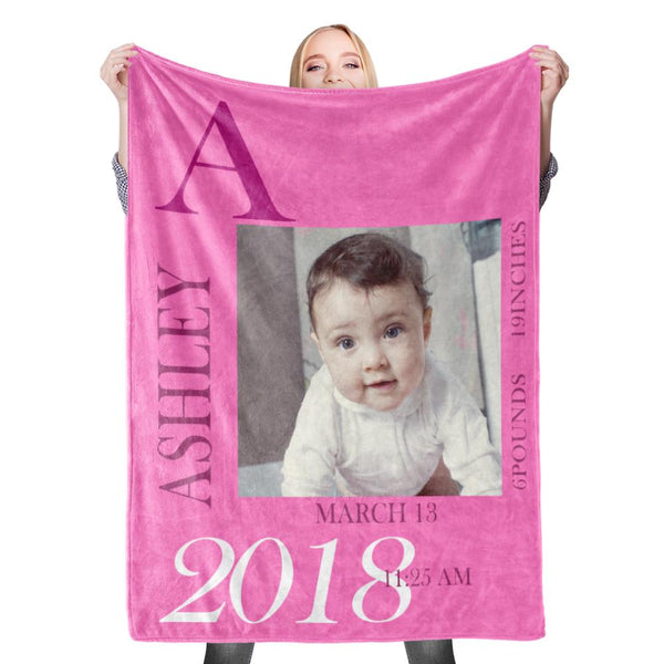Custom Baby Blanket with Name Custom Name Stroller Blankets Custom Swaddle Blanket Personalized Swaddle Blankets