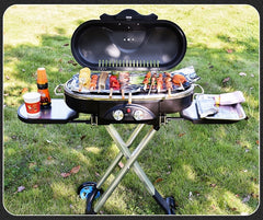 Luxe black BBQ koffer