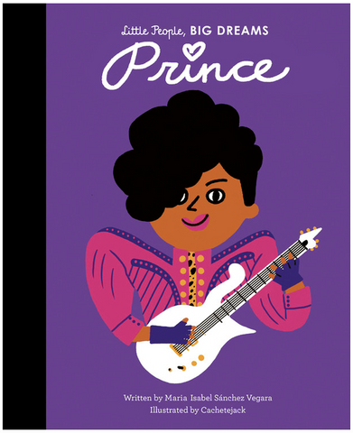 Book cover for Little People, BIG DREAMS - Prince