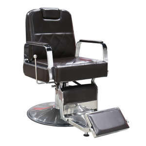 George Barber Chair -Mocha - Factory-Direct Clearance Sale
