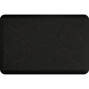 Designer Estates Bella Station 3' X 2' - Black Onyx Salon Mat