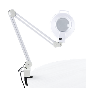 Diopter Magnifying Lamp with Clamp