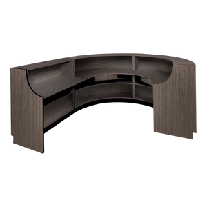 Ellipse American-Made Reception Desk - D
