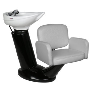 Meuse Black Shampoo Shuttle - You Pick the Chair Top - Factory-Direct Clearance Sale