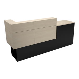 Garbo American-Made Reception Desk - A