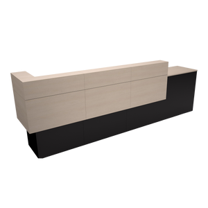 Garbo American-Made Reception Desk - C