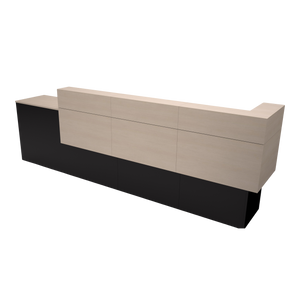 Garbo American-Made Reception Desk - D