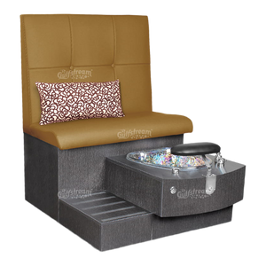 Kimberly Single Pedicure Bench (4367321235565)