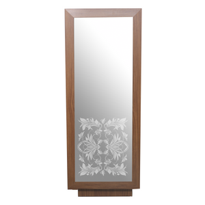 From the Showroom: Rococo American-Made Single Styling Station with Frosted Mirror - Factory-Direct Clearance Sale