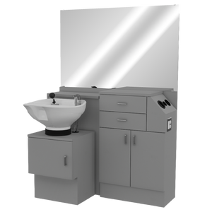 Salon Choice 448 Wet Station with Tilt Bowl