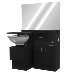 Salon Choice 648 Wet Station with Tilt Bowl