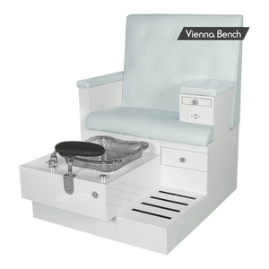 Vienna Single Pedicure Bench (4367318384749)