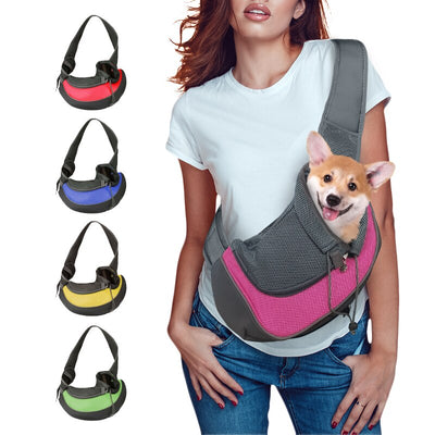 Dog Cat Carrier Sling | Pet Travel Bag | Pet Carrier Shoulder Bag