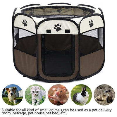 Portable Folding Pet Carrier Tent Dog House - Pet Poop Scooper
