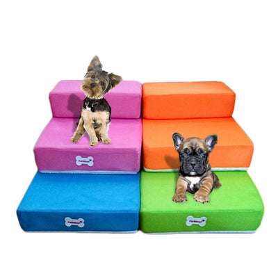 Foldable 2 Steps Jump Stairs for Dogs - Pet Poop Scooper