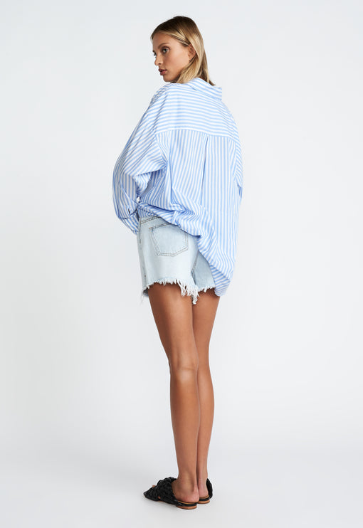 Easy Rider Cut Offs - LIGHT BLUE