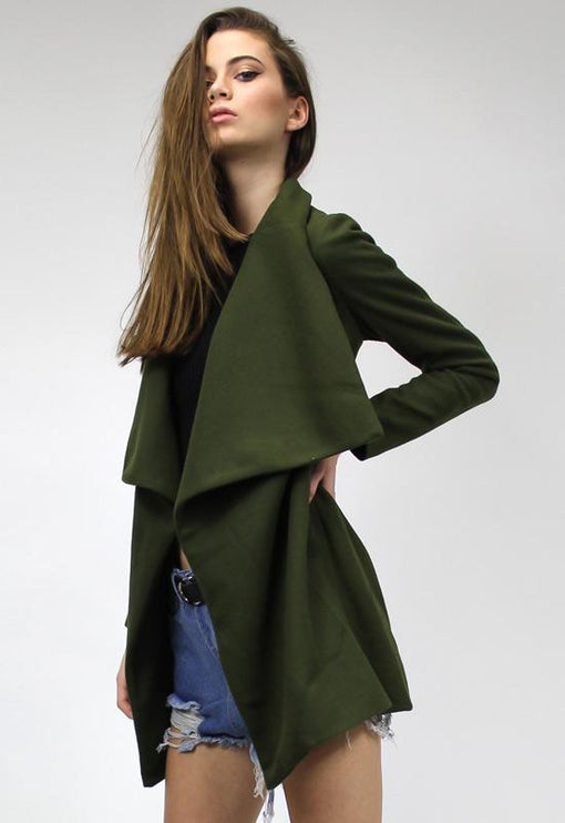 New York Minute Coat - KHAKI
