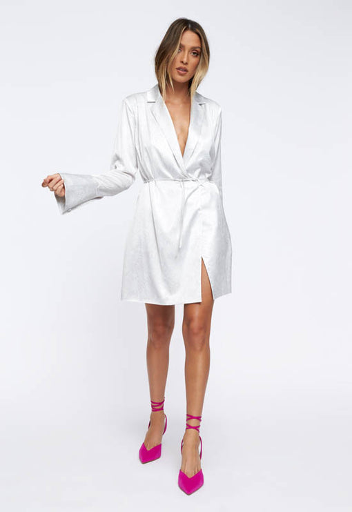 Catching Feelings Mini Dress - PYTHON