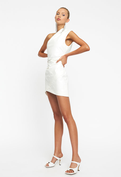 Life Of The Party Mini Dress - WHITE