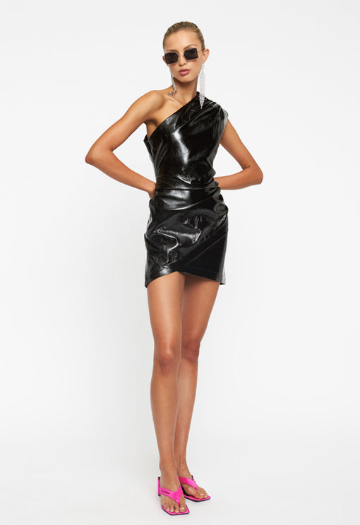 Life of the Party Mini Dress - BLACK