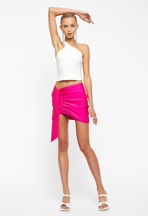 Diamonds In The Sky Mini Skirt - PINK