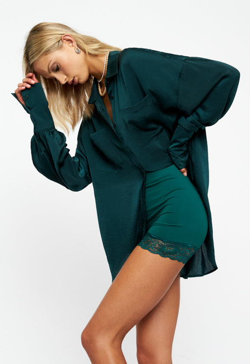 The Carrie Shirt - FOREST GREEN