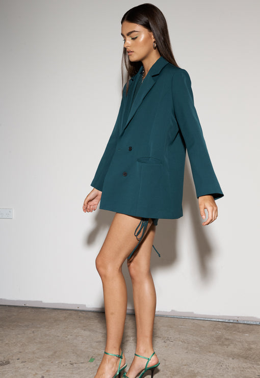 Wyoming Blazer - FOREST GREEN<br><b>ONLINE EXCLUSIVE</b></br>