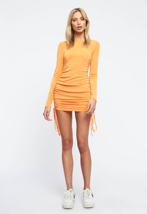 East Village Mini Dress - ORANGE