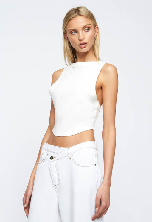 Sweet Nothings Crop - IVORY