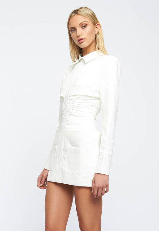 PRE-ORDER: The Sweetest Thing Mini Dress - WHITE