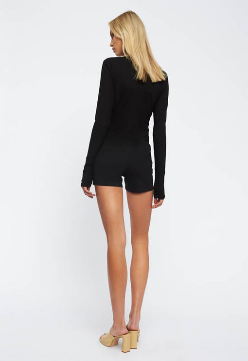 Angel Romper - BLACK