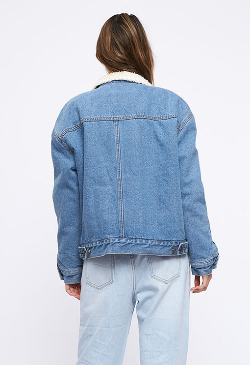 The Ryland Jacket - DENIM BLUE