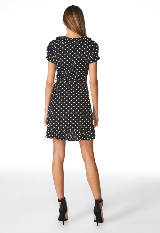 Birkin Wrap Dress - POLKA