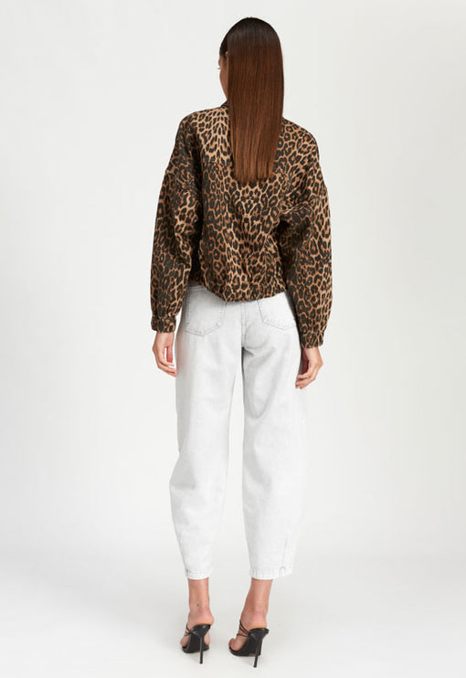 Bad Behaviour Jacket - LEOPARD PRINT